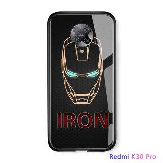 UCUC, Dành Cho Xiaomi Redmi K30 Pro Ốp Điện Thoại Ốp Xiomi Poco F2 Pro Ốp Lưng Xiaomi Pocophone F2 Pro Ốp Siêu Anh Hùng Ốp Lưng Bằng Kính Cường Lực Người Nhện Captain America Ironman thumbnail