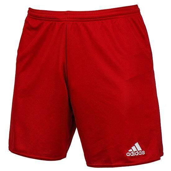 03bbfae76 Adidas Genuine Product Training Parma 16 Football Soccer Team Wear Men's  Shorts Pants RED AJ5881