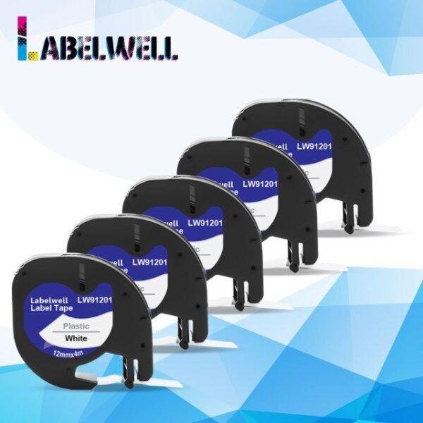 Bảng giá Nhãn Nhựa Labelwell 10pk 91202 91222 91332, Cho Dymo Lt 12Mm Băng Lt 91201 91200 91203 91204 12267 Cho Lt-100h Dymo Letratag Phong Vũ