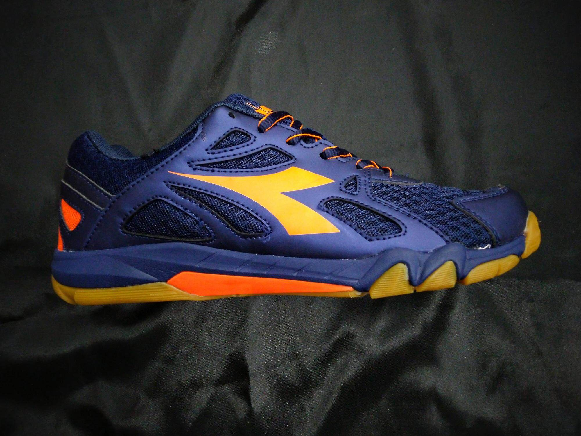 DIADORA BADMINTON SHOES ORANGE