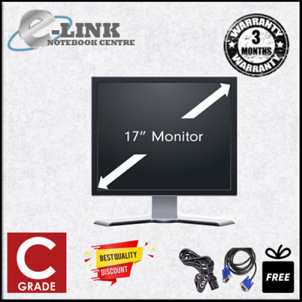 (GRADE C) 15 / 17 / 19 / 20 / 22 / 24 INCH  LCD MONITOR (DEAD PIXEL / SCRATCHES / CALAR) Malaysia