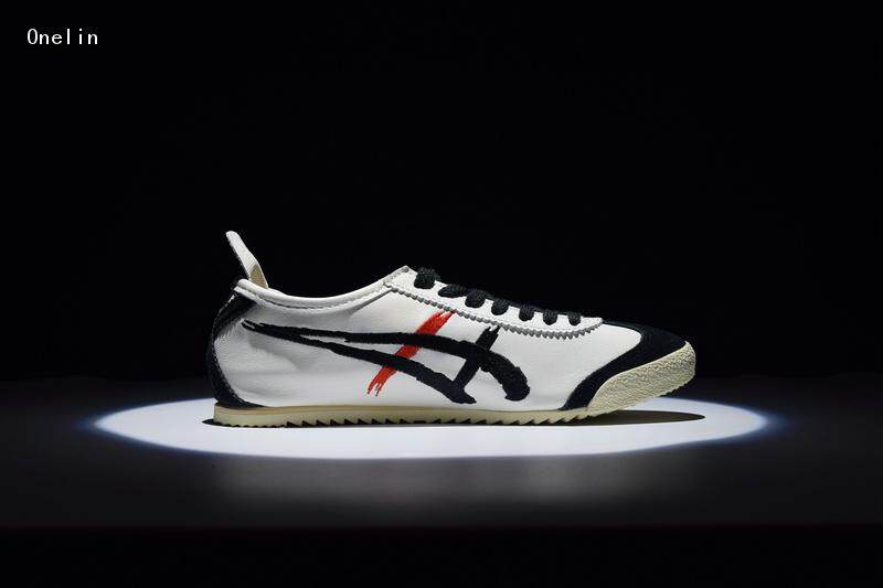huge selection of 3b640 c86c9 Top Quality Original Onitsuka_Tiger Mexico 66 DELUXE Men's and Women's  Retro Casual Skateboarding Shoes Unisex Classic Fashion Sneakers ...