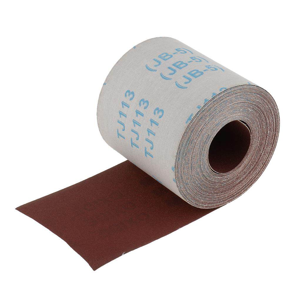 Blesiya 10m x 100mm 180 Grit Water Proof Emery Cloth Sanding Paper for Metalworking