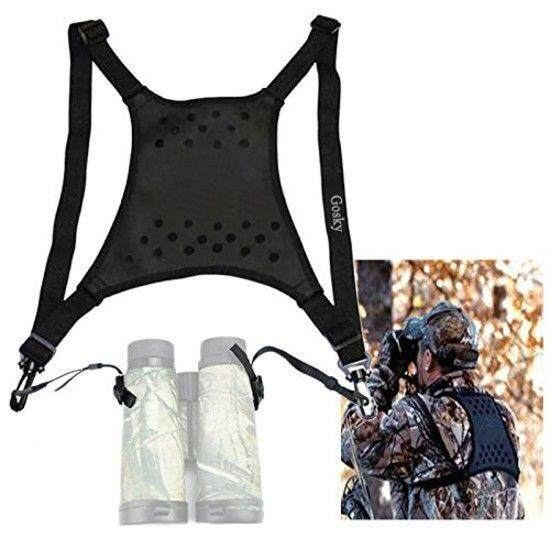 Gosky Deluxe Double Sling Shoulder Neck Strap Belt - Binocular Harness By Goskyoptics.
