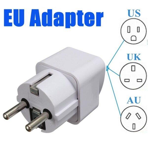 Bảng giá Bộ Chuyển Đổi Sạc Du Lịch Điện Tử Đa Năng 2 Cái Bộ Chuyển Đổi Phích Cắm Tường Bộ Chuyển Đổi Nguồn Điện US UK AU Sang EU Châu Âu Phong Vũ