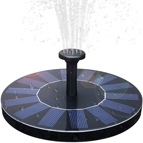 Solar Fountain Watering Kit Power Solar Pump Pool Pond Submersible Waterfall Floating Solar Panel Water Fountain