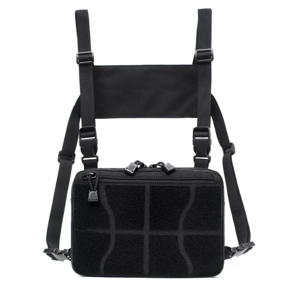 Royalsword Adjustable Chest Rig Waist Bag Hip Hop Cross Shoulder Bag Outdoor Men Women