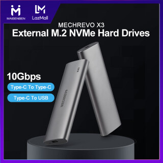 [Local Warranty] MAIBENBEN MECHREVO X3 External M.2 NVMe Hard Drives Portable External Solid State Drives Enclosure Data Storage Aluminum Alloy Type-C 1000MB s Reading & Writing Speed Free Data Cables Free Shipping thumbnail