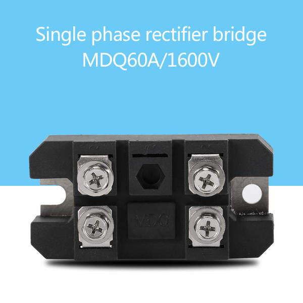 1 Cái Một Pha Diode Cầu Chỉnh Lưu 60A 1600V Cầu Cao Chỉnh Lưu Điện 4 Thiết Bị Đầu Cuối giá rẻ