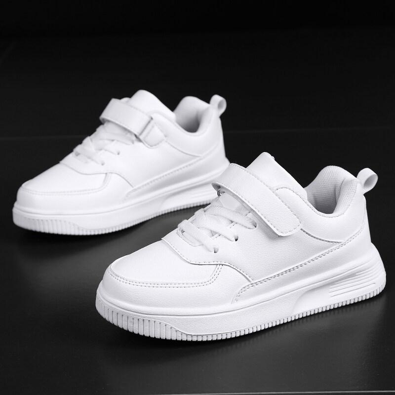 Kids Boys Girls Shoes Black White