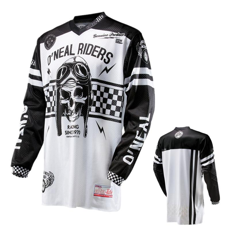 Men Long Sleeve Motocross MX Jersey MTB BMX DH Mountain Bike Jersey Dirt Bike  Racing Shirt 2e9098c09