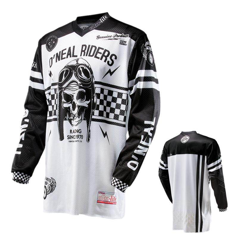 Men Long Sleeve Motocross MX Jersey MTB BMX DH Mountain Bike Jersey Dirt  Bike Racing Shirt 55df198db