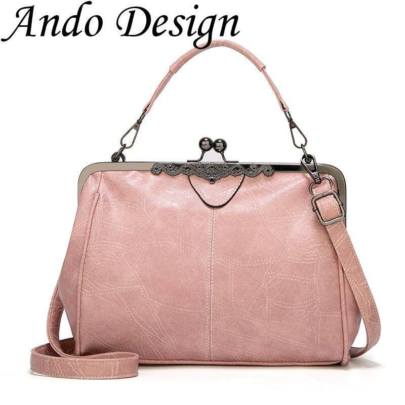 Woven Handbag 2019 New European Fashion Retro Shoulder Bag Party For Women Ladies Totes Pu Leather