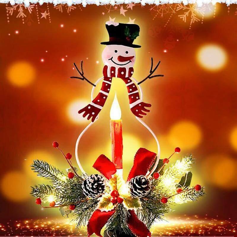 Năng Lượng Mặt Trời Giáng Sinh Đèn Chiếu Sân Vườn Ngoài Trời LED Đèn Khuôn Viên