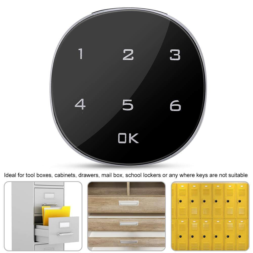 Touch Screen Digital Electronic Password Coded Lock for Cabinet Mailbox File Sauna Drawer
