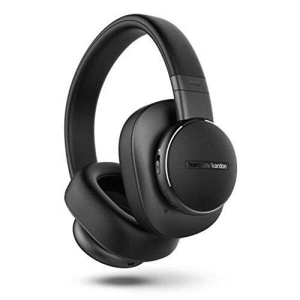 Harman Kardon Harman Kardon Headphones FLY ANC Over-ear Noise Canceling Bluetooth Wired Compatible Google Assistant Black Singapore