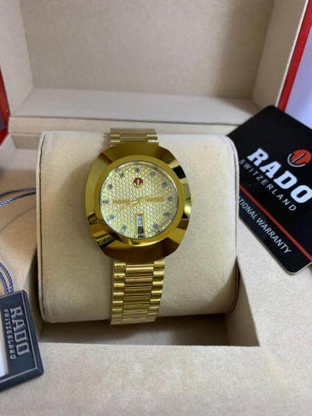 (Quality Guaranteed)R a d o Men DiaStar Automatic Watch Value Buy Malaysia