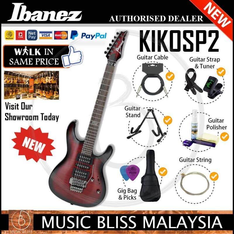 Ibanez KIKOSP2 Electric Guitar (Transparent Red Burst) (KIKO-SP2) Malaysia