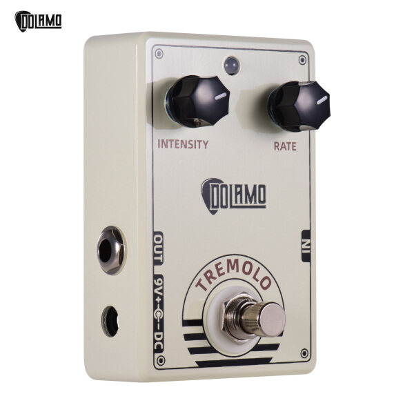 Dolamo D-13 Vintage Style Tremolo Guitar Effect Pedal with Intensity and Rate Controls True Bypass Design for Electric Guitar Malaysia