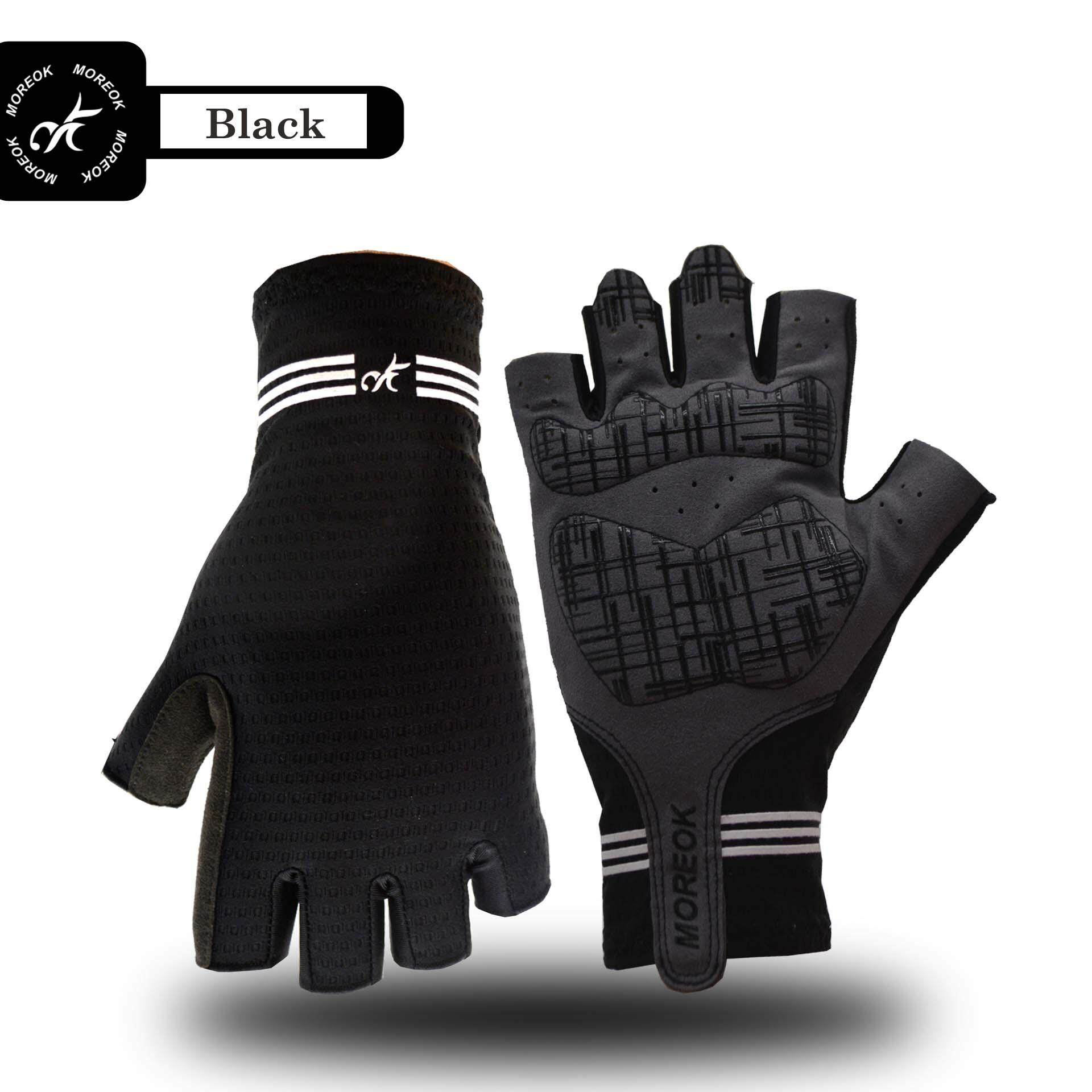 Cycling Bicycle Bike Gloves Sports Racing Riding Half Fingers Gloves Breathable