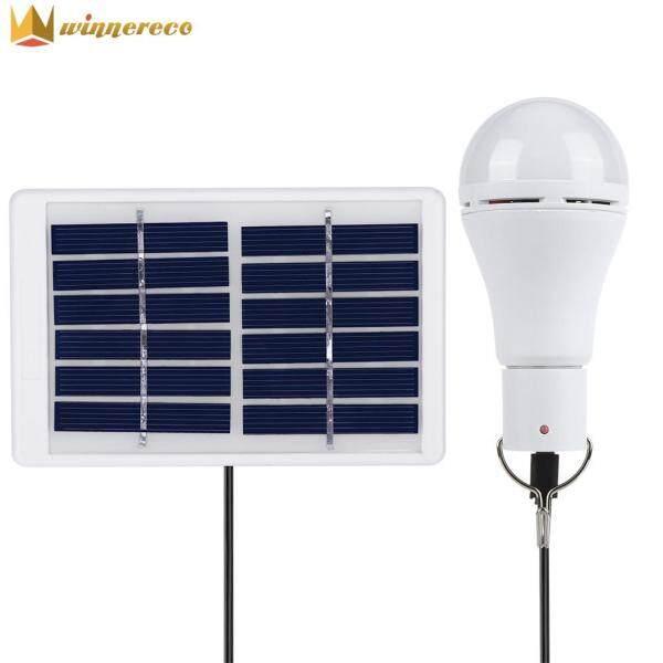 「 Đèn Năng Lượng Mặt Trời LED COB 20 5 Chế Độ Winnereco 」 Bóng Đèn Năng Lượng Sạc USB, Cắm Trại Đèn (Hàng Có Sẵn)