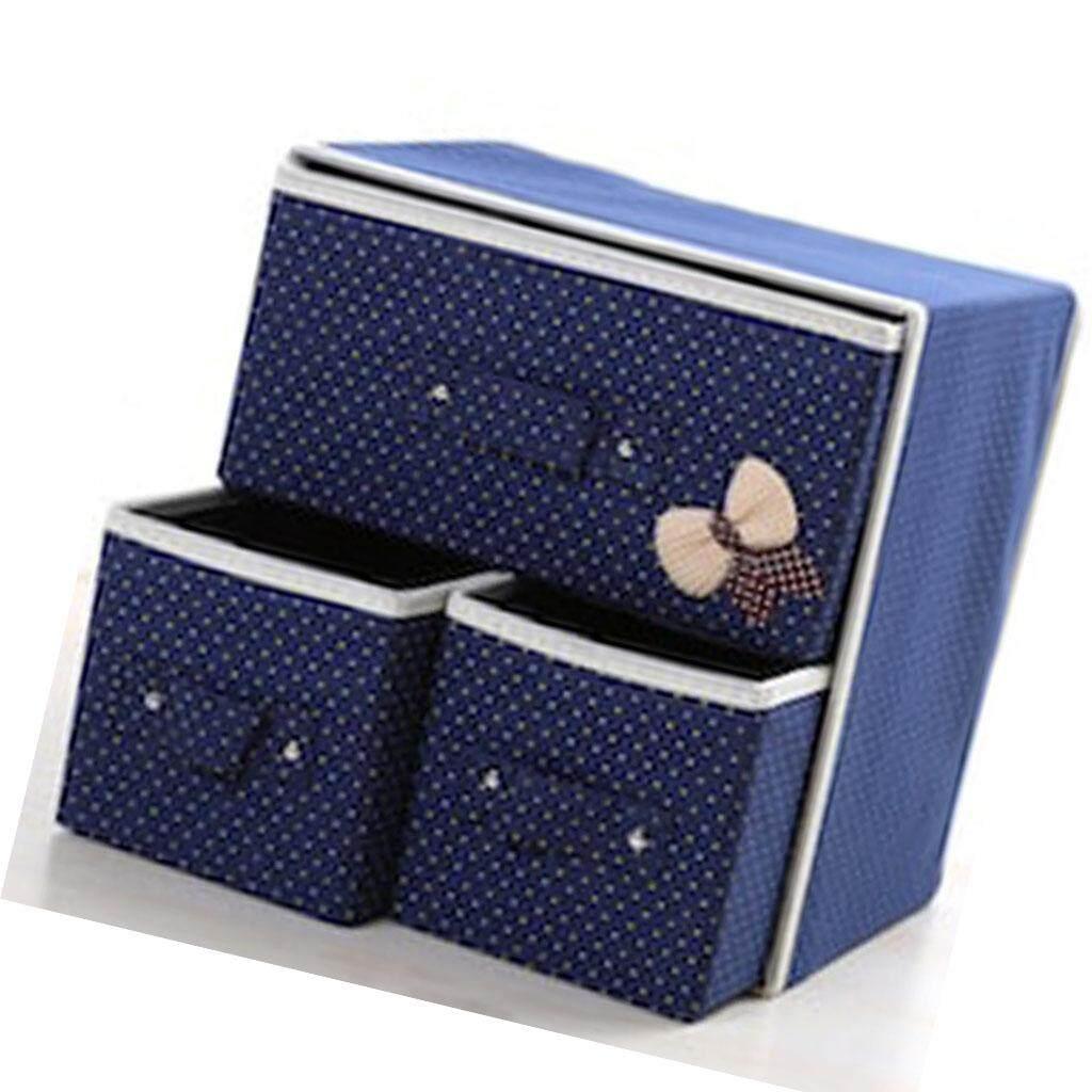 BolehDeals 1Pc Non-Woven Foldable Storage Bins Box Containers Organizer