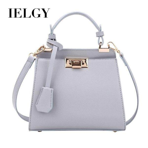 IELGY Large Capacity Simple Lock Button Single Shoulder Pack