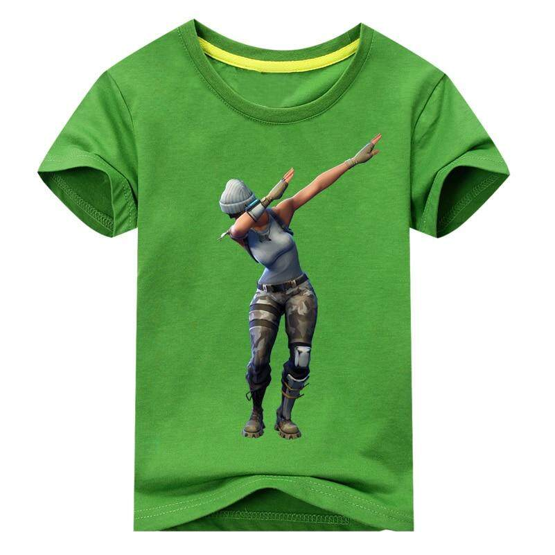 0e0646f48a3 Kids Hot Game T-shirt Costume Boys Summer 3D Print Tees Tops Clothes  Children Tshirt