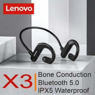 Tai Nghe Bluetooth 5.0 Không Dây Lenovo X3, Tai Nghe Nhét Tai Thể Thao Âm Thanh Nổi Chống Mồ Hôi, Hỗ Trợ IOS Andorid Cho Chạy Riding thumbnail