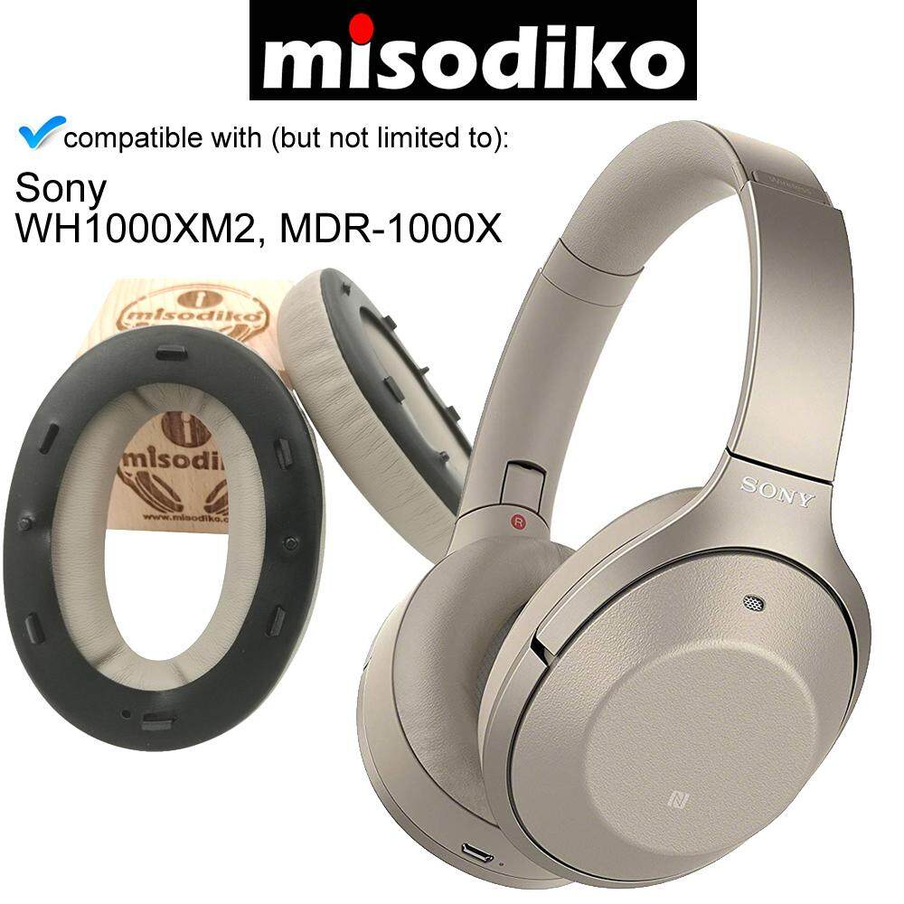 Replacement Soft Cushion Foam Earpads For SONY MDR-1000X WH-1000XM2 Headphones