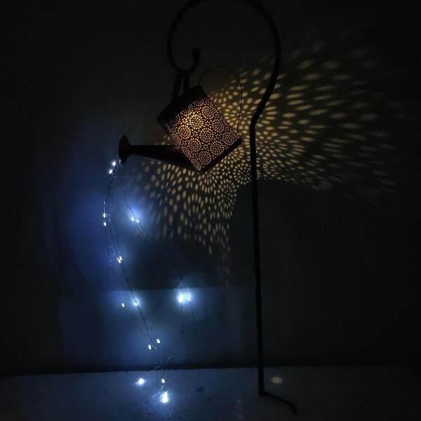 Đèn Năng Lượng Mặt Trời Samber, Đèn Tắm Bằng Sắt Rèn Cổ Điển Trang Trí Bãi Cỏ