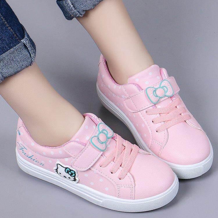 Agbaby Trẻ Em Trẻ Em Hoạt Hình In Giày Thể Thao Bé Gái Giày Vải Đế Mềm