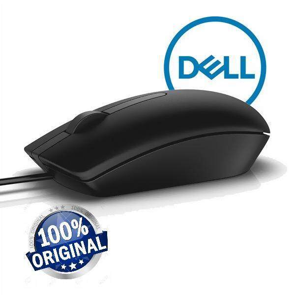 Original - Dell Optical Mouse - Model: MS116t ( BLACK) Malaysia