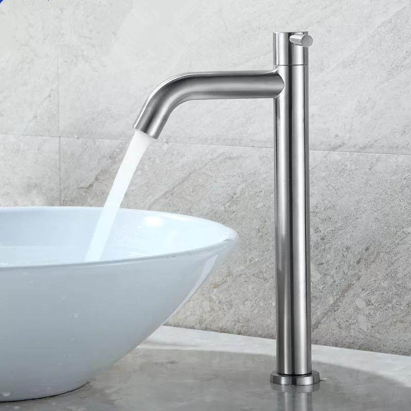 Stainless Steel 304 Bathroom Faucet Basin Tap Premium quality 30CM