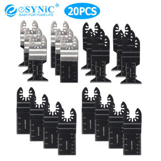 eSYNIC 20Pcs Oscillating Multi Tool Saw Blade thumbnail