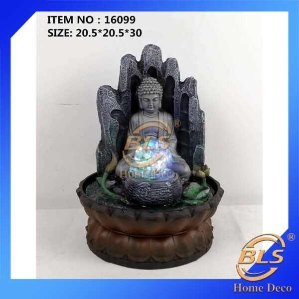 BLS WATER FOUNTAIN - BUDDHA LX16099 FENG SHUI WATER FEATURES FOUNTAINS