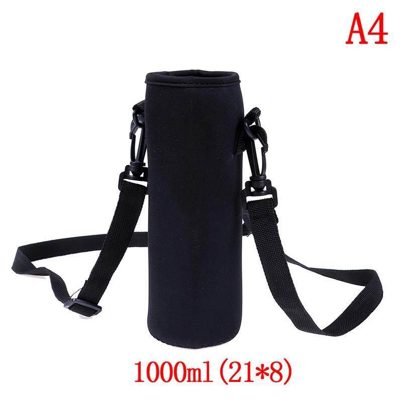 1000ml neoprene water bottle carrier insulated cover bag holder strap travel SG