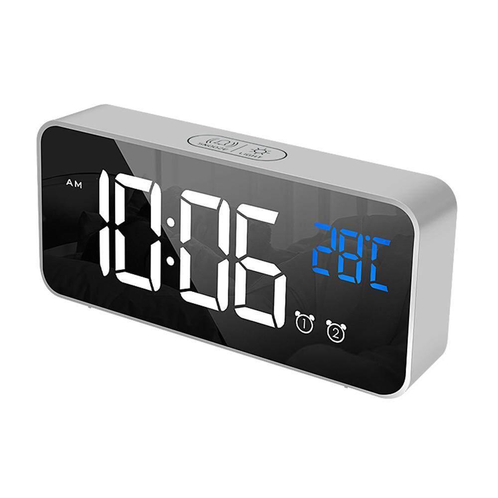 Nơi bán OnLook LED Đồng Hồ Báo Thức Kỹ Thuật Số-Gương HD LED Đồng Hồ với 3 Cấp Độ Sáng Cấp và 3 Chế Độ Báo Động (5 ngày 6 ngày, 7 ngày) cho Nhà Phòng Ngủ Văn Phòng, Du Lịch