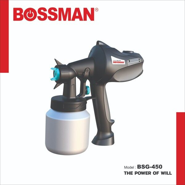 BOSSMAN 450W Handheld Electric Paint Sprayer BSG-450