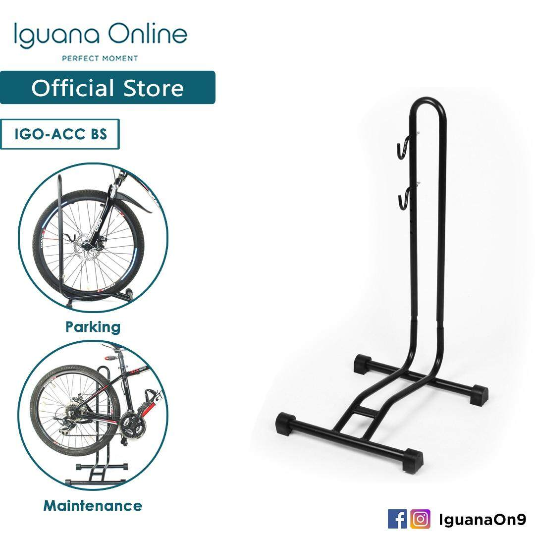 Iguana Online Bicycle L Type Insert Parking Frame Mountain Road Bike Maintenance Support Frame Storage