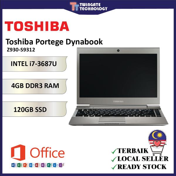 Toshiba Portege Dynabook Intel i7 Z930-S9312 Laptop Malaysia