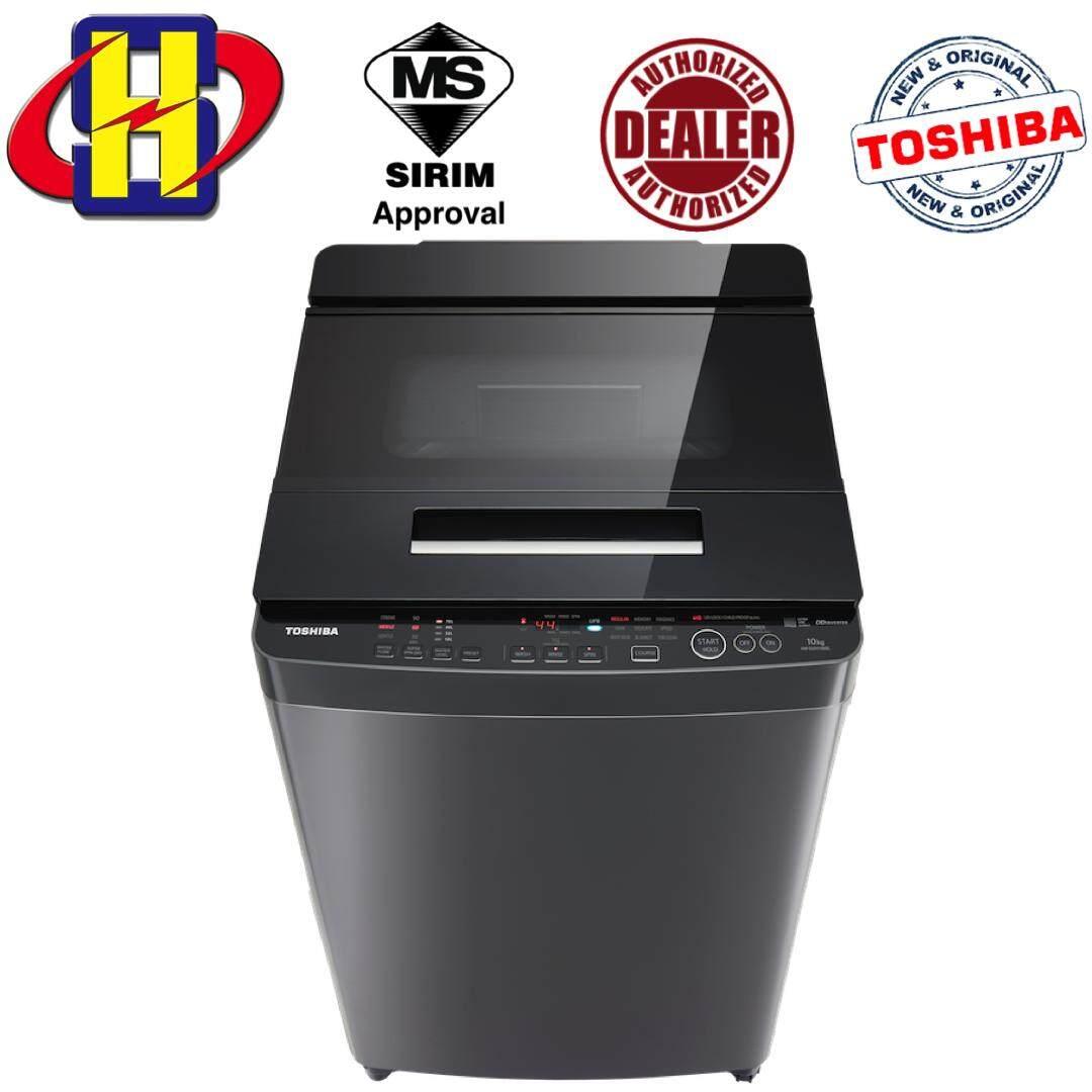 Toshiba AW-DUH1100GM (DS) 10.0KG DD-INVERTER Nano Wash Washing Machine