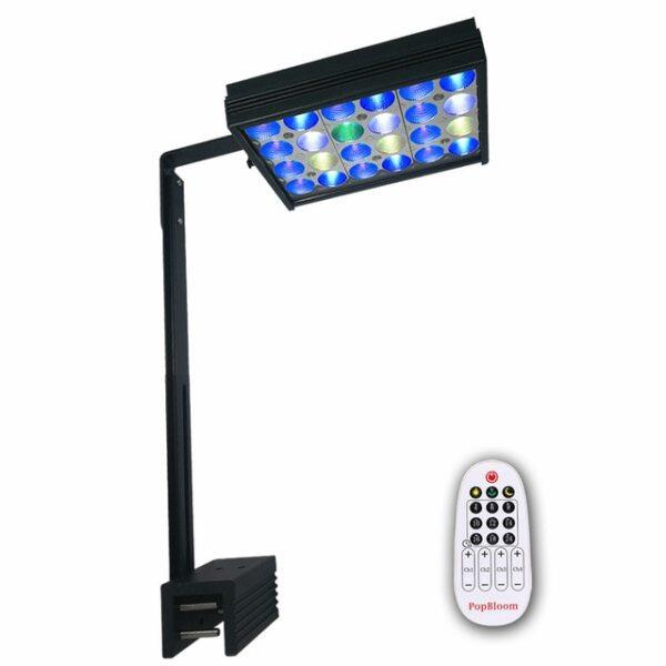 DSunY Led Mini Nano Aquarium Light 30W Saltwater Lighting with Remote Control for Coral Reef Fish Tank Shannon16
