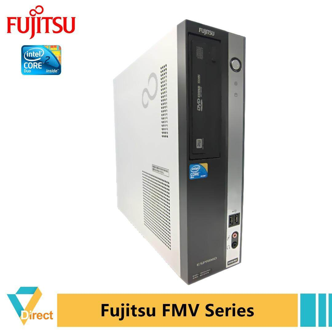From Rm189 - 4gb Ram 128gb Ssd Jdm Fujitsu Esprimo D5200 Series Sff Desktop Pc + Monitor - Also 160g 500gb Hdd By Vig Computers Sdn Bhd.