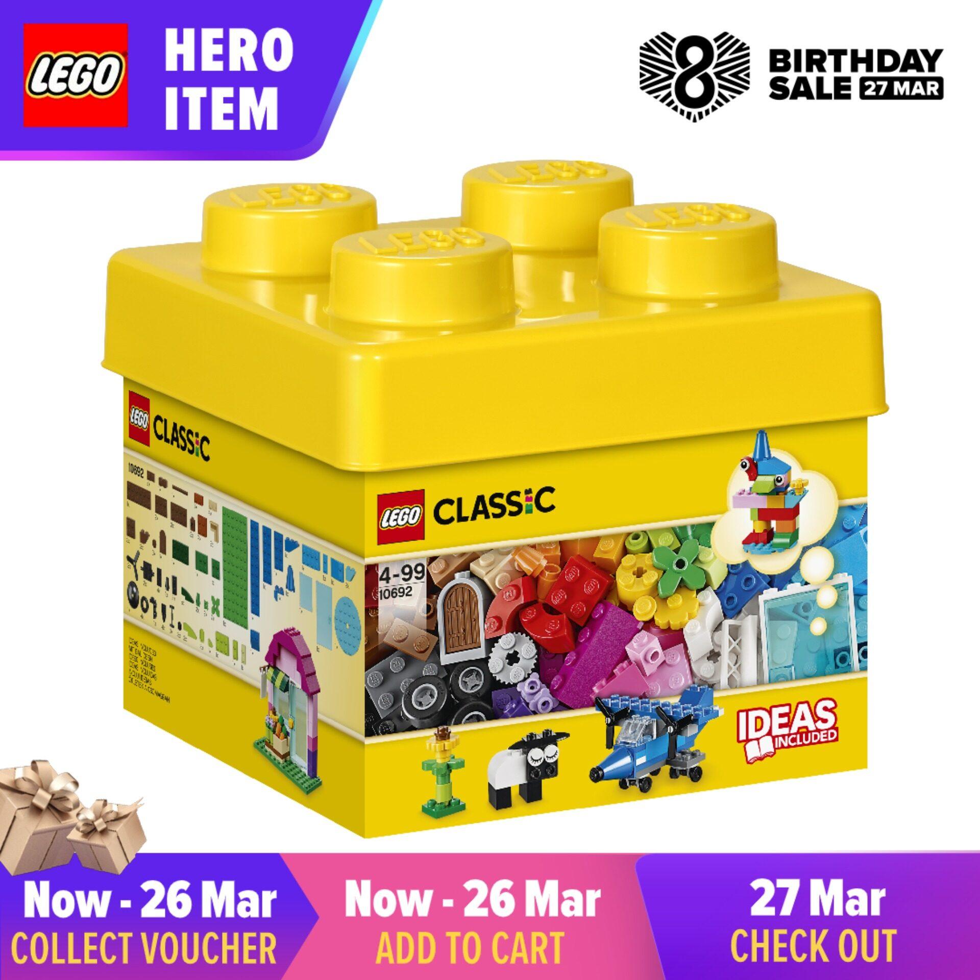 Learning Toy LEGO Classic Creative Bricks 10692 Building Blocks