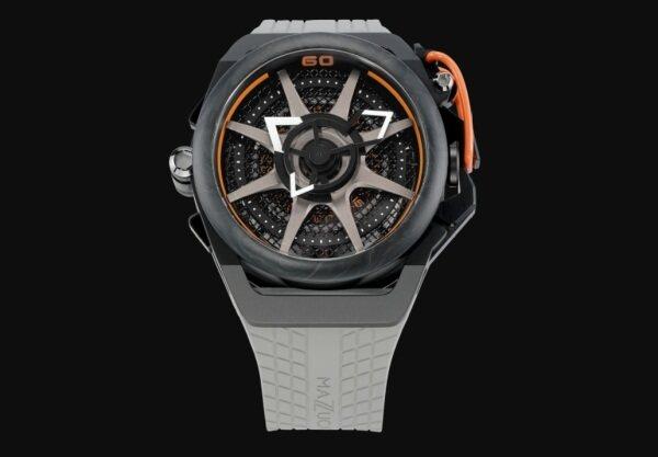 Mazzucato Rim Monza F1-GYBLK Orange - Automatic Watch Malaysia