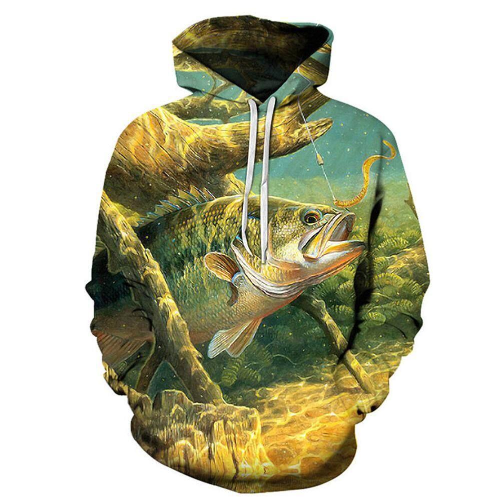 กลางแจ้ง Lizard 3d หมาป่าพิมพ์ Hoodie ผู้ชาย/ผู้หญิง Cool สัตว์เสื้อกันหนาวแฟชั่นเสื้อสวมศีรษะสำหรับทุกเพศ By Outdoor Lizard.