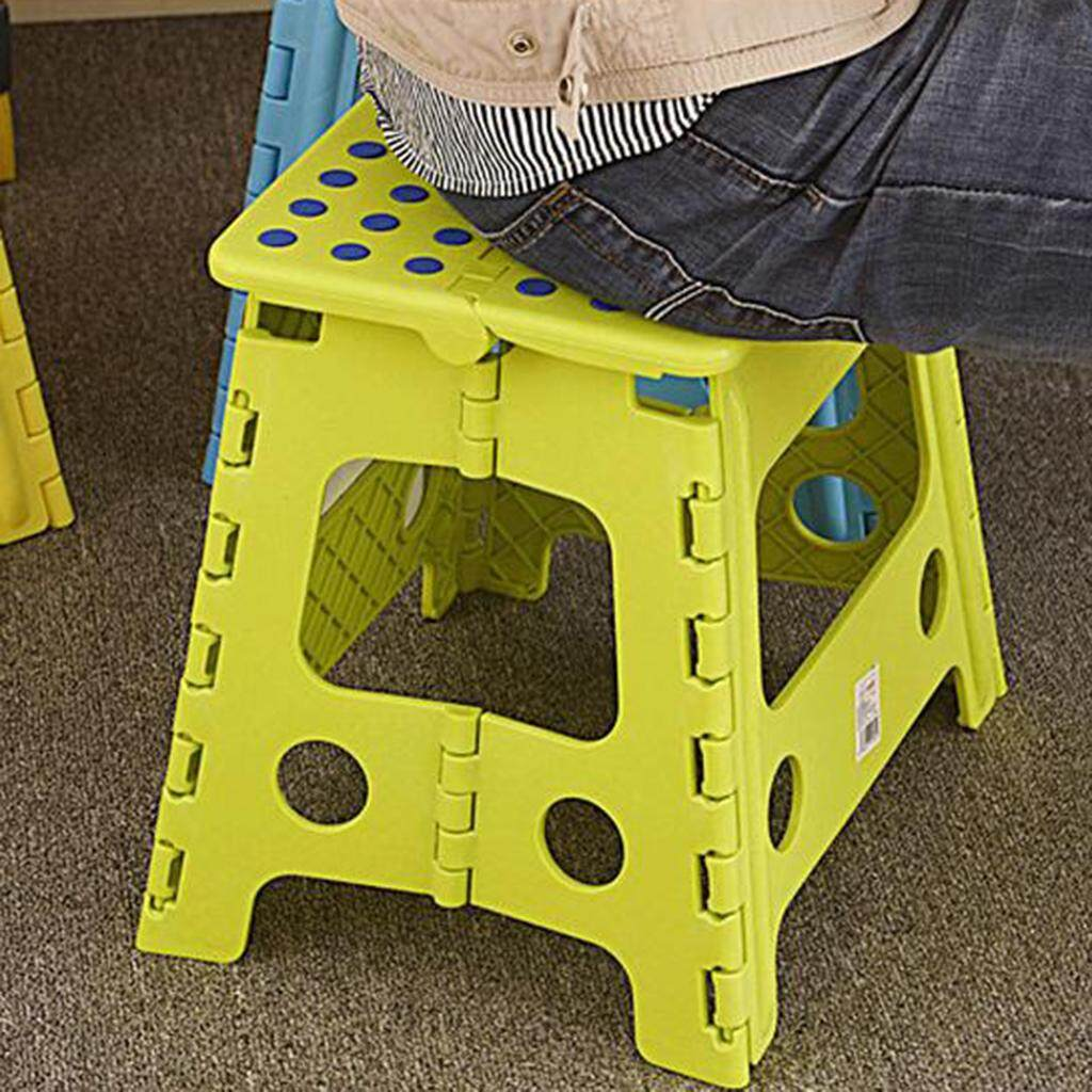 Perfk Strong Plastic Multi Purpose Folding Step Stool Home Kitchen Carry Storage By Perfk.