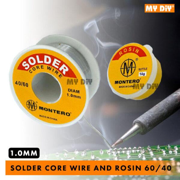 MYDIY Online2u - MONTERO Soldering Lead Core Wire And Rosin Soldering Paste Flux 60/40 1.0MM Soldering Lead