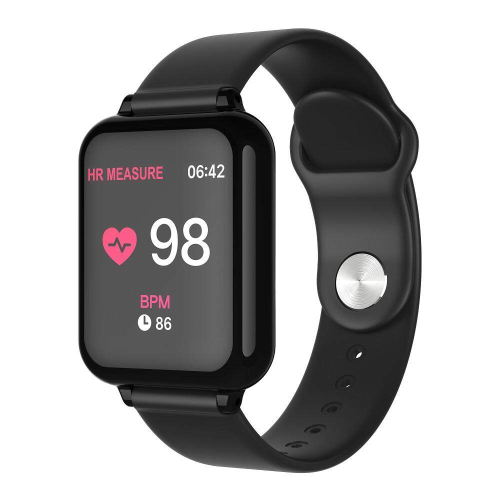 B57 Smart Watch Blood Pressure Monitor Bracelet Heart Rate Band Pedometer  Bluetooth Waterproof Fitness Sleep Tracker Wristband For IOS And Android